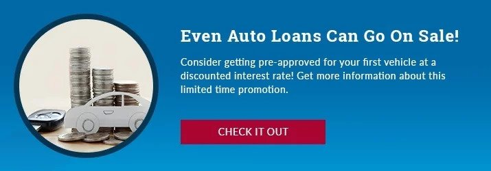 Even Auto Loans can go on sale!