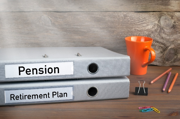 folders for pension